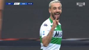 Sassuolo šokirao Inter nakon samo četiri minute