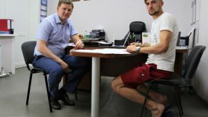 Dosadašnji fudbaler Mladosti otišao u Rusiju