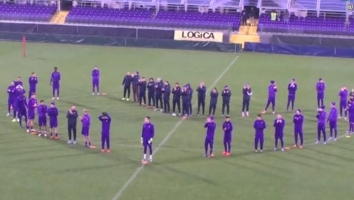 Ljubičasto srce fudbalera Fiorentine za sve vjerne navijače