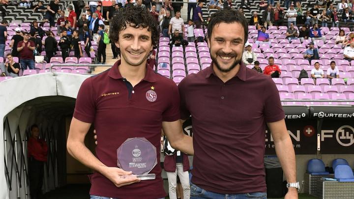 Miroslav Stevanović proglašen najboljim igračem Servettea