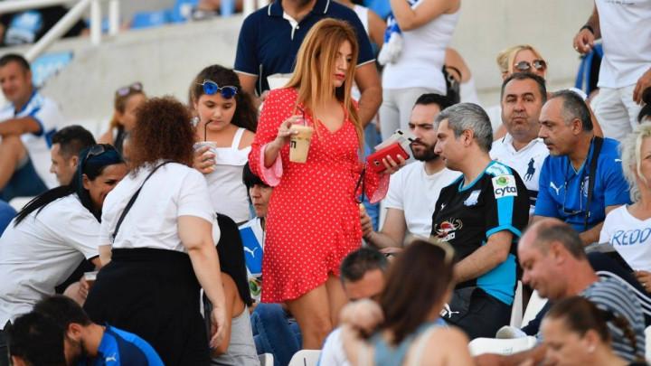 Ona je izmamila sve uzdahe na utakmici Apollona i Želje