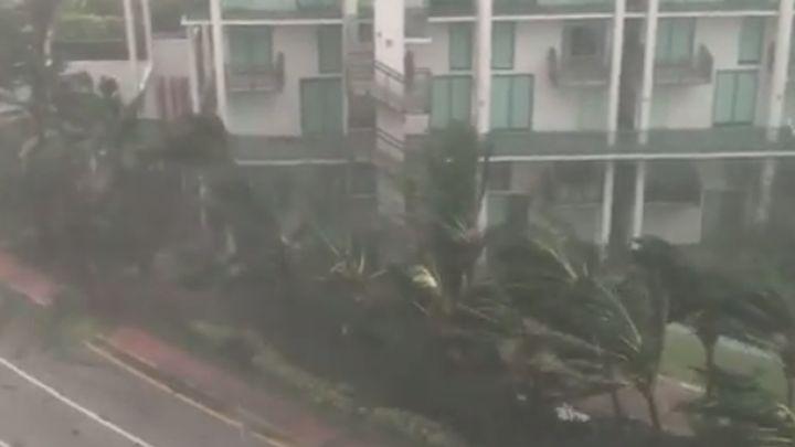 Slavni nogometaš u centru uragana Irma