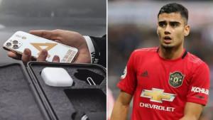 Andreas Pereira se pohvalio novim mobitelom koji košta čak 5.000 funti