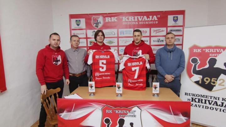 Deni Velić i Bojan Grujičić nova imena u RK Krivaja