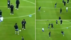 Pojavio se rijetki video na kojem Maradona i Messi igraju fudbal