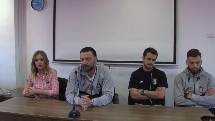 Jusufbašić: Nadam se da ćemo se kući vratiti sa tri boda