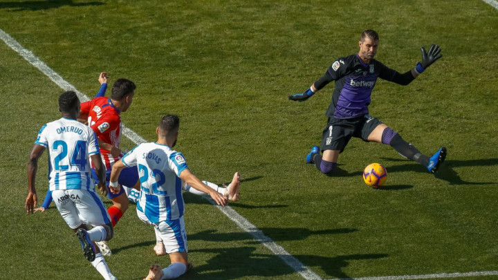 Nestvarne scene u Madridu: Ono što je radio golman Leganesa ne viđa se često