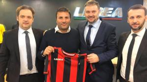 FK Sloboda potpisao ugovor o tehničkom sponzorstvu u Italiji