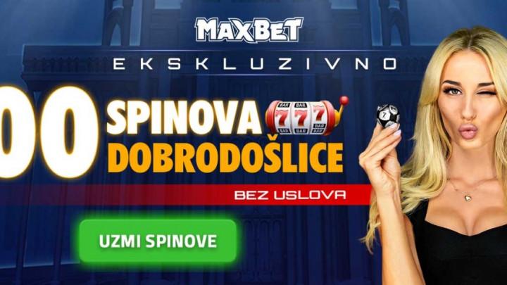 MaxBet u julu poklanja 100 spinova za svoju najpoznatiju slot igru  – registruj se i spinuj!