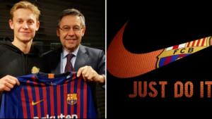 Nike odradio veliki posao za Barcelonu, ali imao poseban zahtjev za igrača