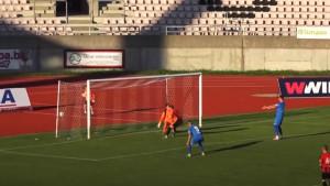 Gol o kojem se priča u Tuzli: Amar Beganović je spretno zabio za bod FK Sloboda