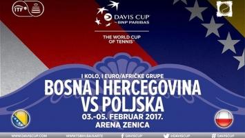 Davis Cup: Poznat sastav naše reprezentacije