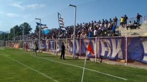 Velika podrška za FK Željezničar u Doboj Kaknju