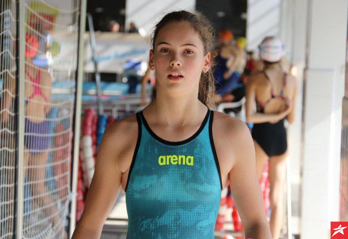 Lana Pudar i službeno na rang listi najboljih mladih europskih plivačica