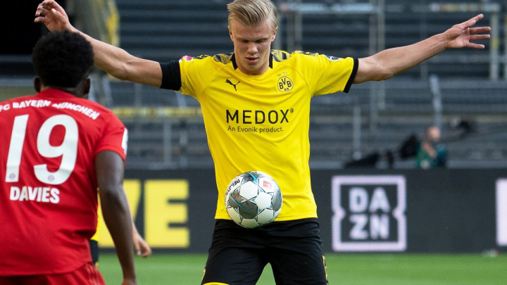 Postava Dortmunda bez Haalanda