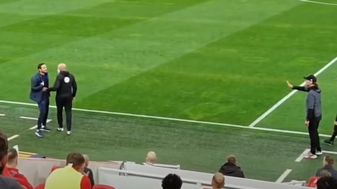Kamere to nisu prikazale, ali uvijek neko snima: Lampard je bio spreman da krene na Kloppa