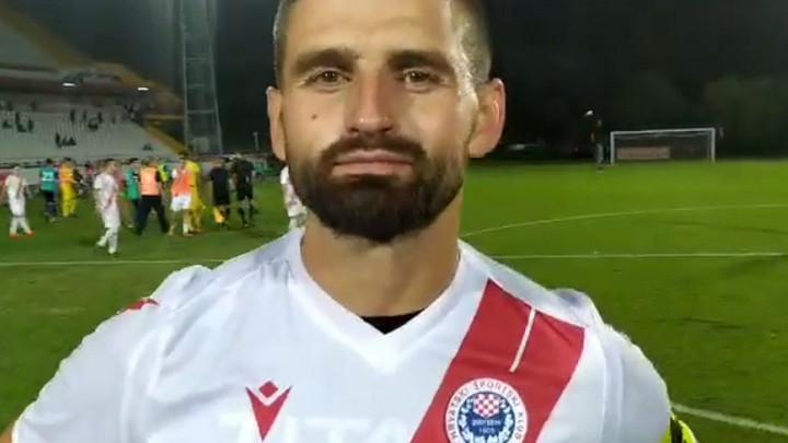 Jakovljević: Jako mi je drago što sam baš danas postigao gol
