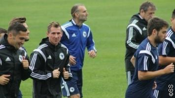 Lulić lakše povrijeđen, Zmajevi trenirali u Zenici