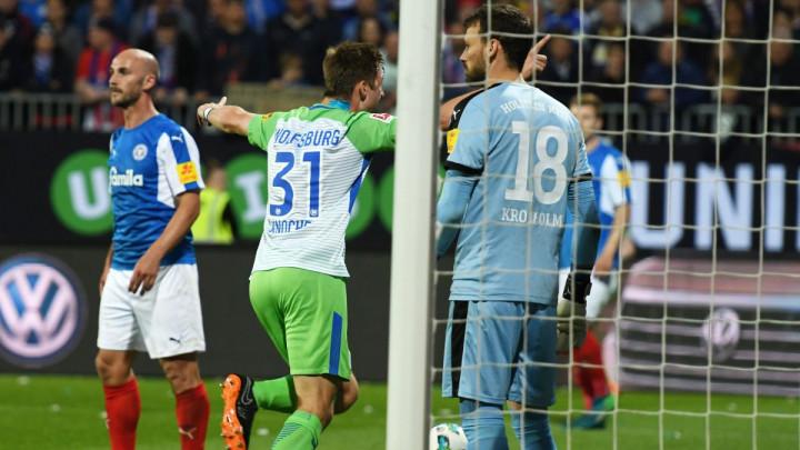 Wolfsburg ponovo savladao Kiel i ostao u Bundesligi