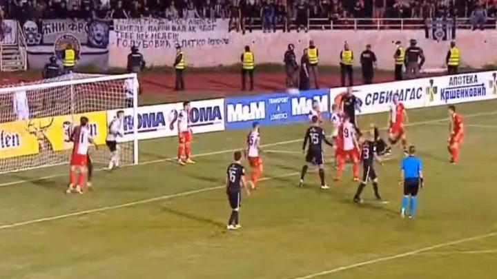 Spektakl u Nišu: Partizan u 96. minuti golom škaricama došao do produžetaka