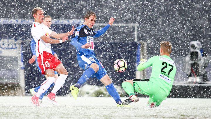 Haos na terenu: Snijeg prekinuo utakmicu u Ausriji