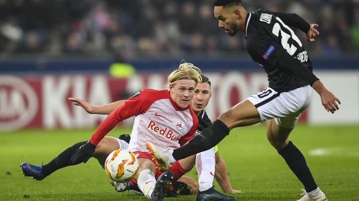 Schlager golom probušio mrežu Bruggea