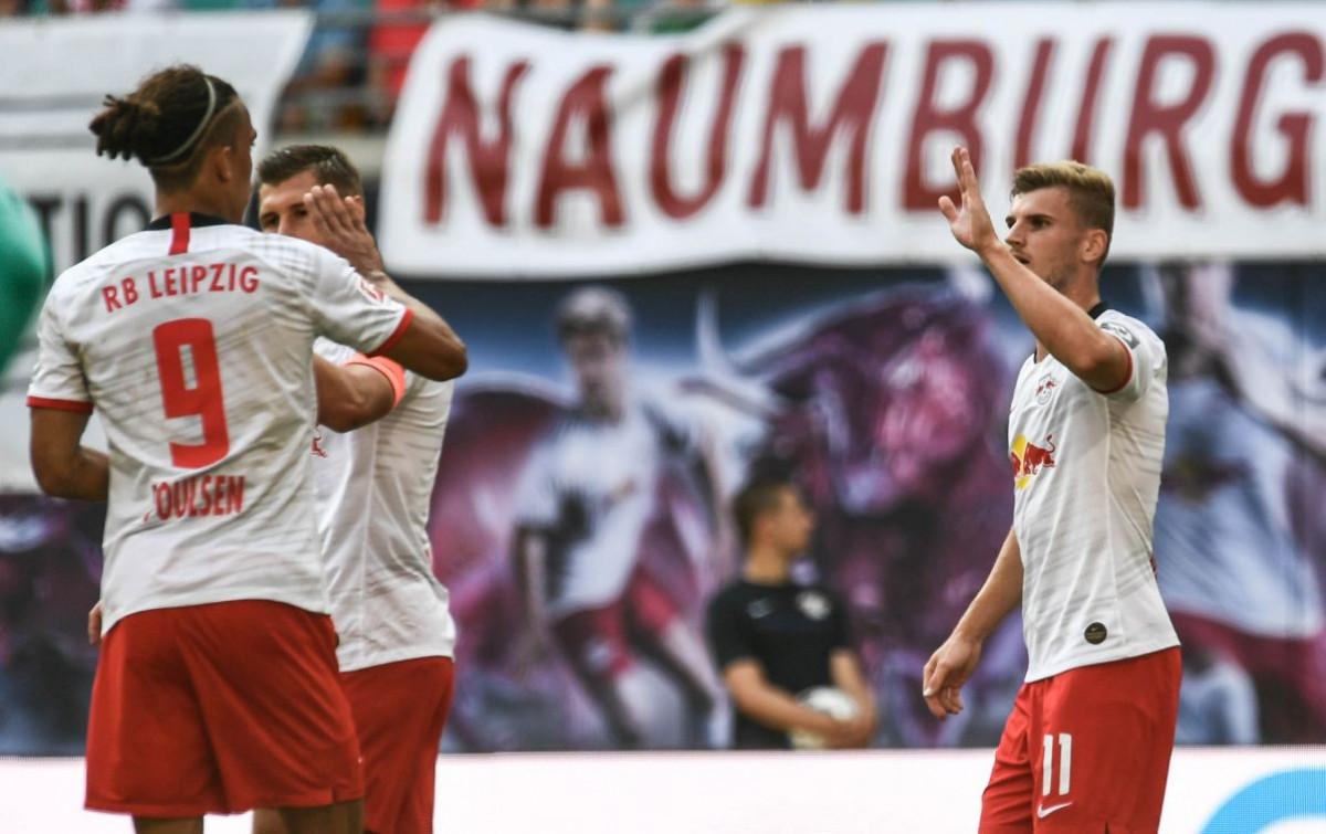 RB Leipzig pobjedom protiv Eintrachta pkazao da će se ponovo boriti za vrh tabele