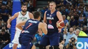 Bogdanovićevih 27 poena za novi trijumf Srbije protiv Litve