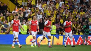 Arsenal prokockao dva gola prednosti, katastrofalna greška Sokratisa presudila meč