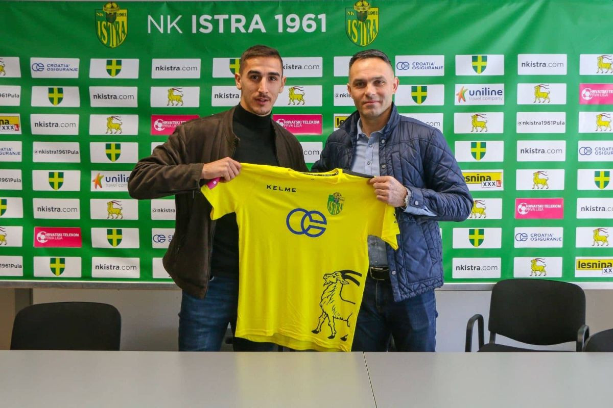 Gedeon Guzina potpisao za NK Istra