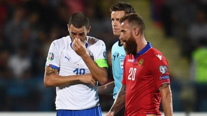 Armenac odgovorio Italijanu: Poštujem veliku karijeru, ali ovo je sramota