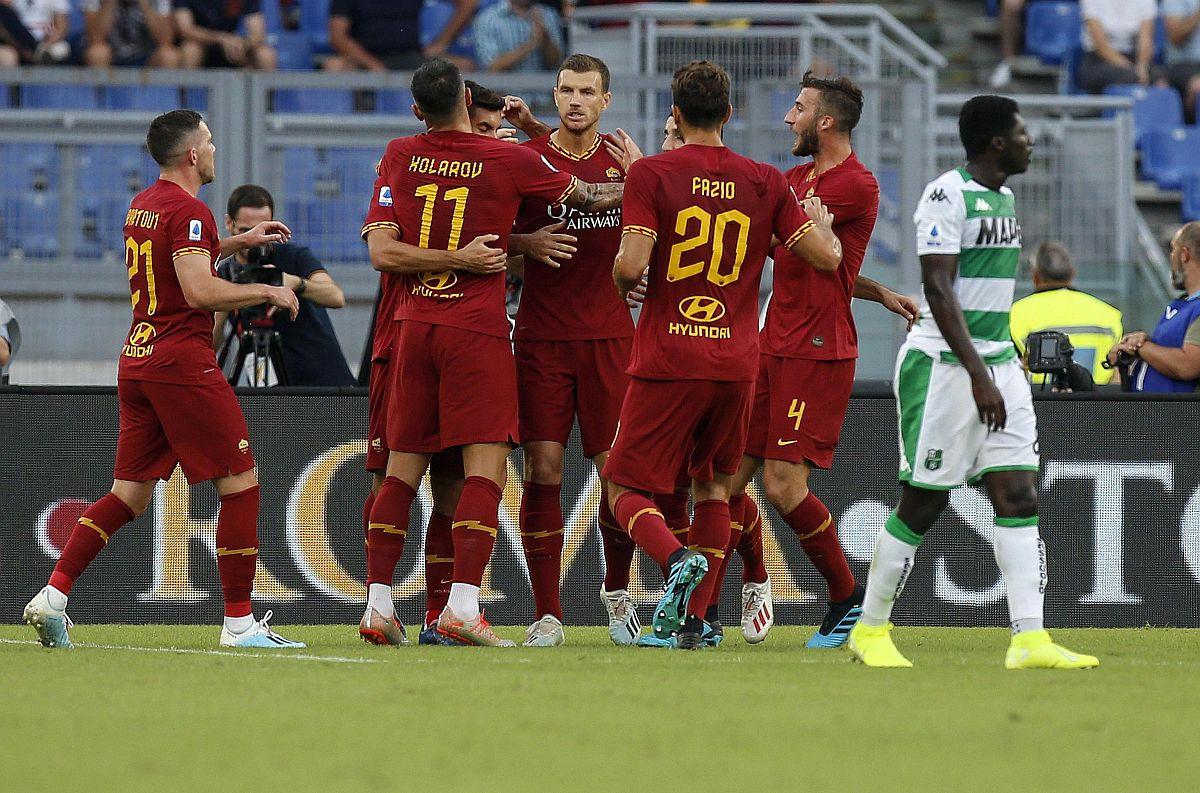 Romi pripala golijada na Olimpicu, u strijelce se upisao i Džeko