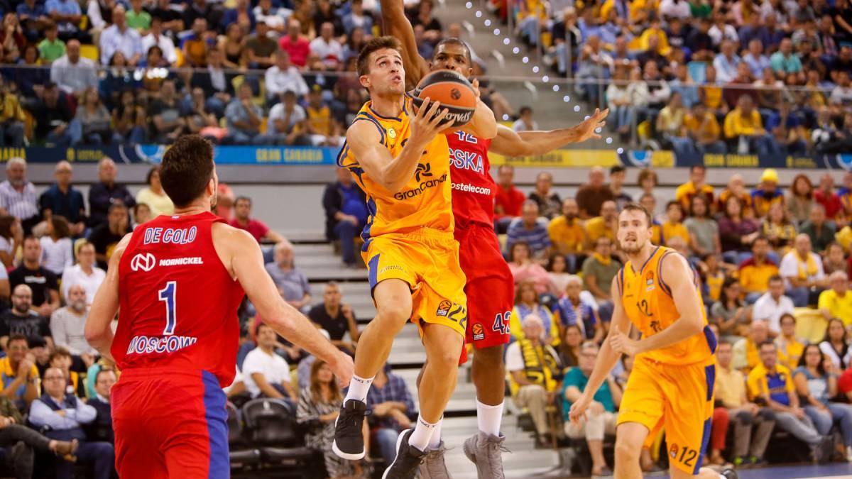 CSKA i bez De Coloa i Higginsa uvjerljiv protiv Gran Canarie