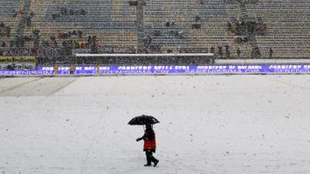 Snijeg neće spriječiti duel Bologne i Milana