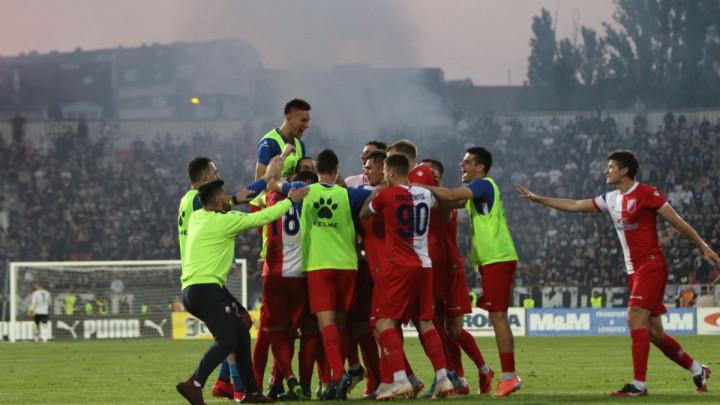 Finale za pamćenje u Nišu: Lalatović i Vojvodina nakon penala srušili Partizan i osvojili Kup