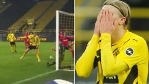 Haalandov promašaj karijere u 95. minuti: Umjesto lopte, u mreži završio Norvežanin