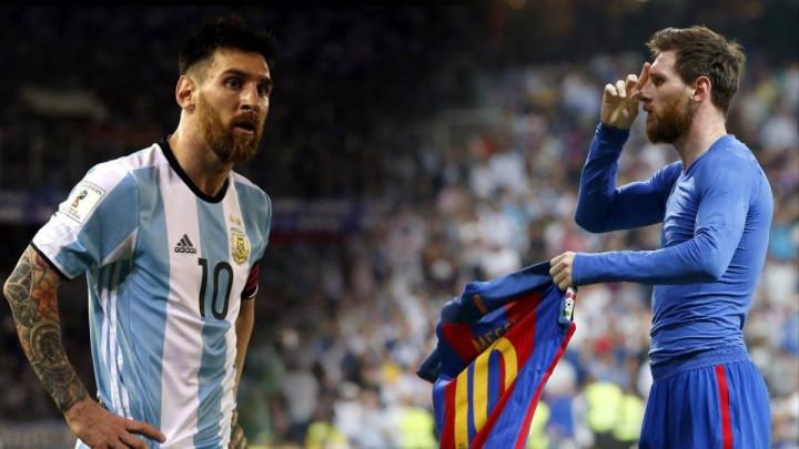 Messi s dva lica: Argentinska legenda pokušava da objasni zašto igra bolje u dersu Barce