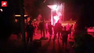 BH Fanaticosi nakon meča ispred hotela iznenadili naše reprezentativce