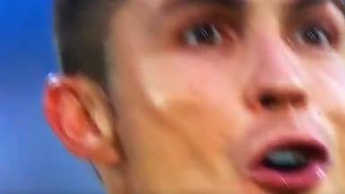 Kamera je na tren uhvatila lice Cristiana Ronalda, ali i to je bilo dovoljno