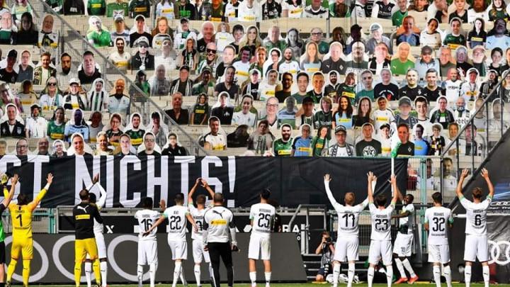 Kako se slavi pobjeda pred 'navijačima' u Bundesligi?