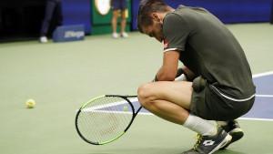 Damir Džumhur sjajno krenuo u meč i osvojio prvi set, ali je Federer na kraju ipak slavio