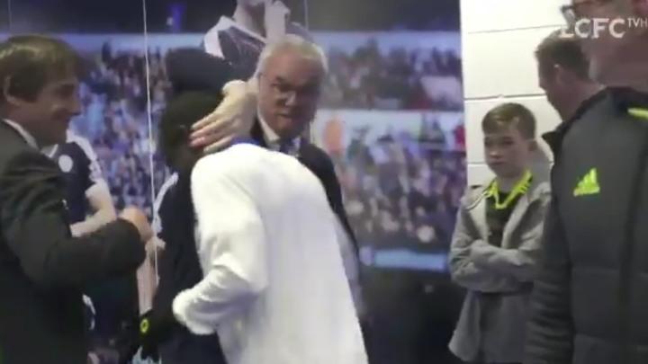 Jeste li vidjeli kako je Ranieri dočekao Kantea?
