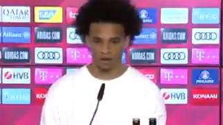Sane na predstavljanju u Bayernu slučajno otkrio veliki transfer