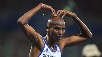 Mo Farah pao, ustao i osvojio zlato na 10.000 metara