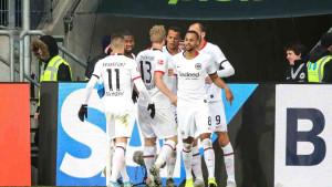 Eintracht do punog plijena u Sinsheimu, Werderu debi začelja