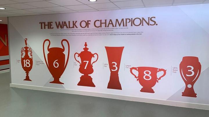 Novi izgled tunela na stadionu Anfield oduševio navijače Liverpoola