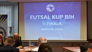 Održan žrijeb četvrtfinala Kupa BiH u futsalu