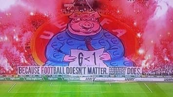 UEFA bijesna zbog koreografije Legijinih navijača
