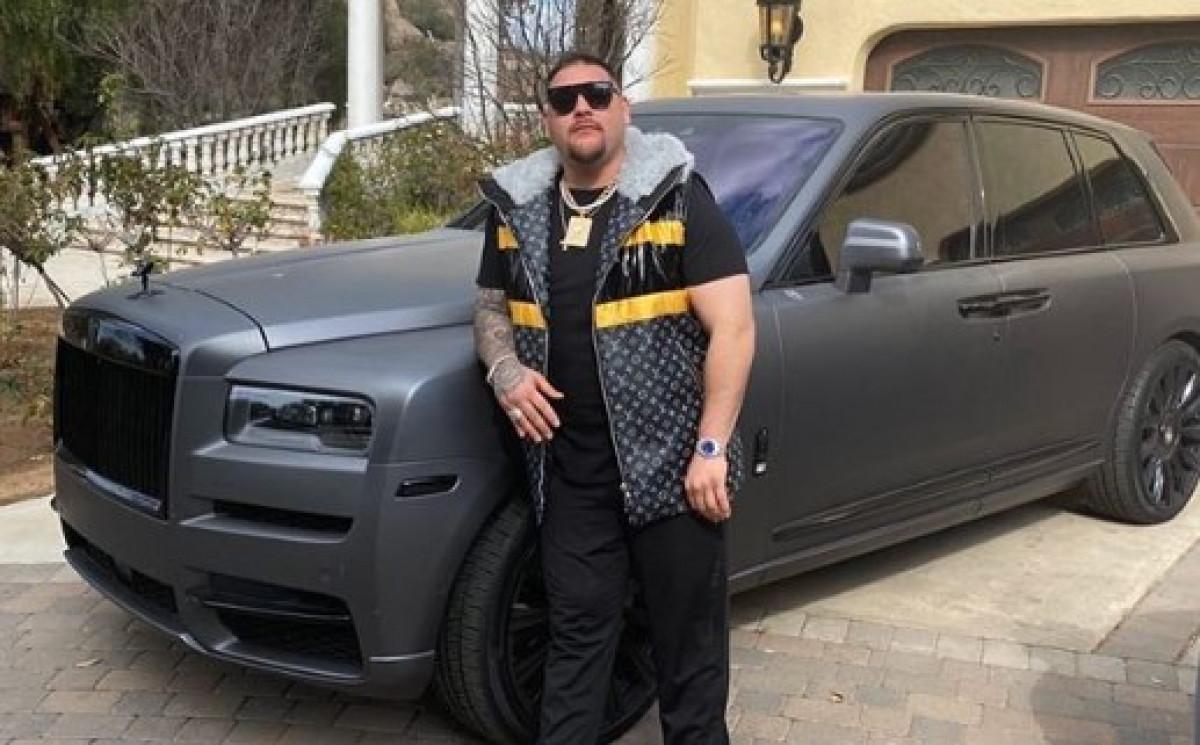 Andy Ruiz se ne zaustavlja: Garaža je puna luksuznih automobila, ali on i dalje kupuje