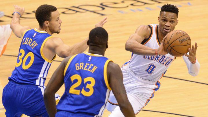 Umalo tuča Curryja i Westbrooka